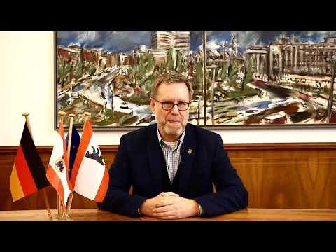 """Eröffnungsrede von Bezirksbürgermeister Reinhard Naumann zur Ausstellung """"Stadt in der Stadt"""""""