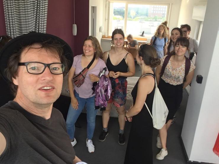 Führung UNESCO-Teamer im ehem. Scharoun-Atelier