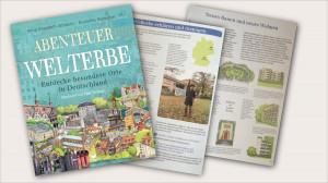 """<small>Empfehlung für ein Kinderbuch: </small><br><strong>""""Abenteuer Welterbe""""</strong>. <br><small>Und ich bin auch dabei ;-)</small> 1"""