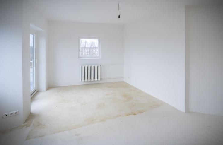 Das Bild eines leeren Raumes