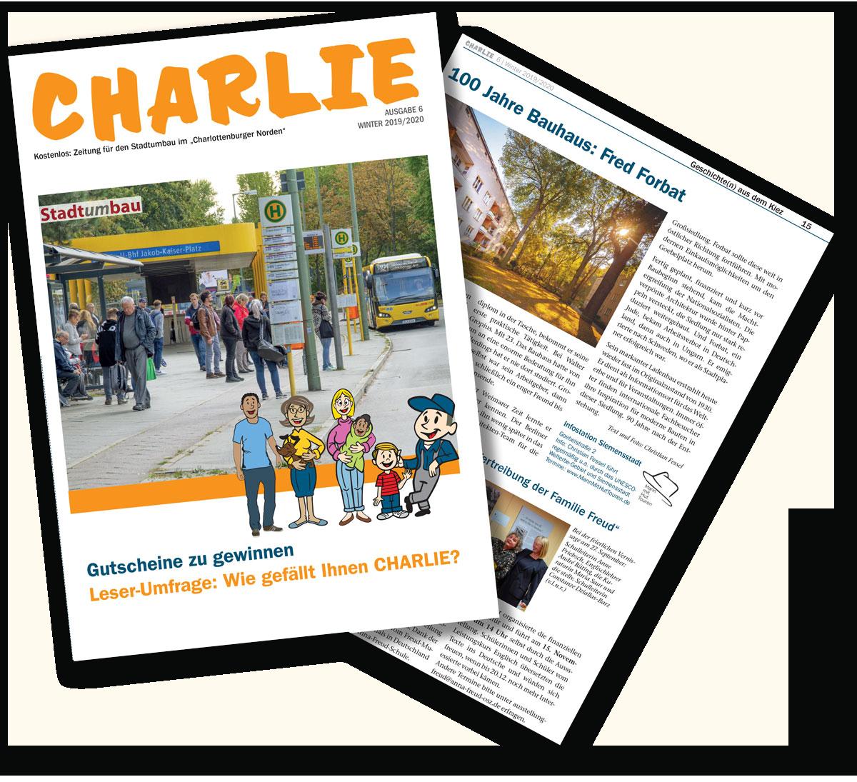 Charlie Magazin.<br>Ausgabe #6 1