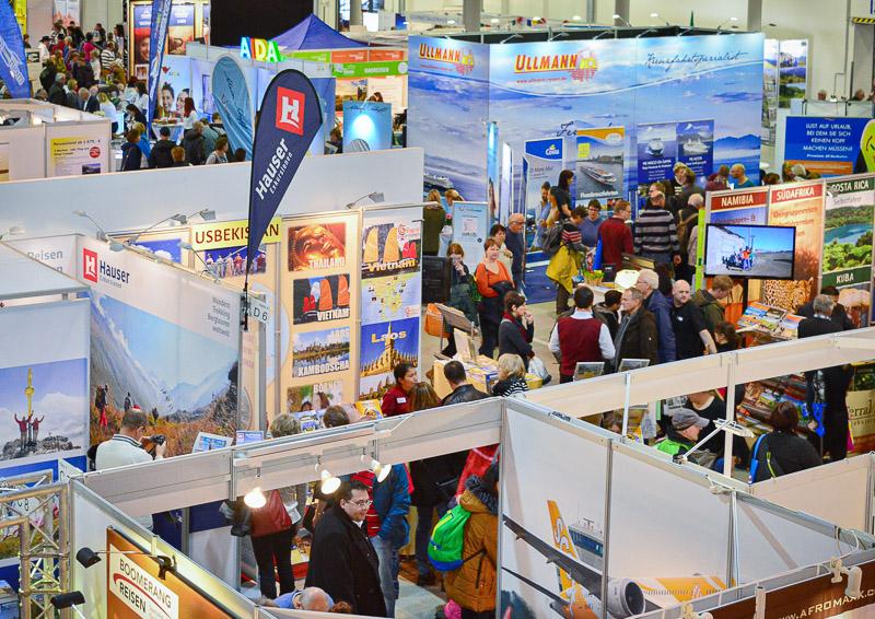 Reisemesse Dresden<br>Charmant repräsentiert. 2