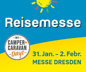 Reisemesse Dresden<br>Charmant repräsentiert. 1
