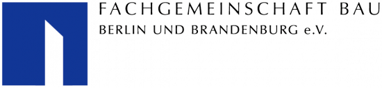 Logo der Fachgemeinschaft Bau Berlin und Brandenburg e.V. zur Führung