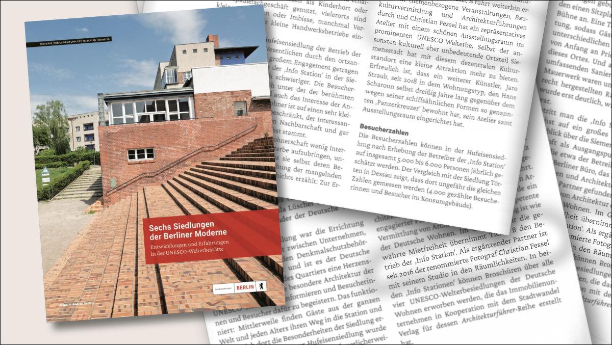 """<small>Neues Buch: </small><br><strong>""""Sechs Siedlungen der Berliner Moderne""""</strong>. <br><small>Und ich bin auch schon wieder dabei ;-)</small> 1"""